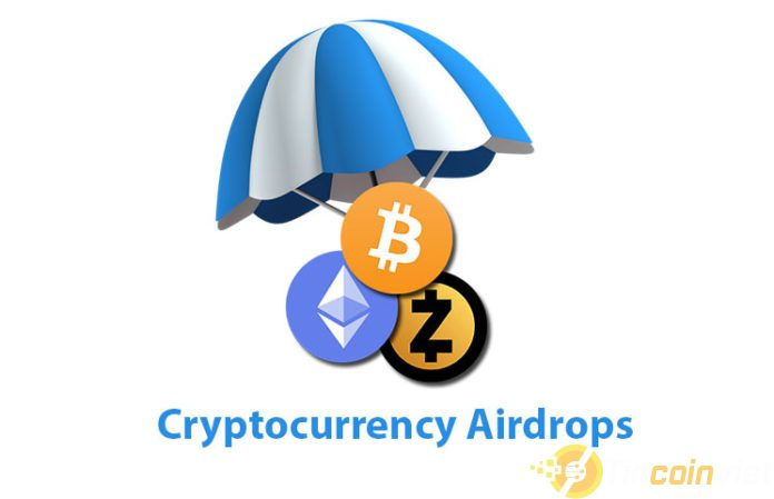 Cryptocurrency airdrops 696x449