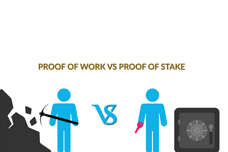 Proof of Work Vs Proof of Stake khac nhau cai gi
