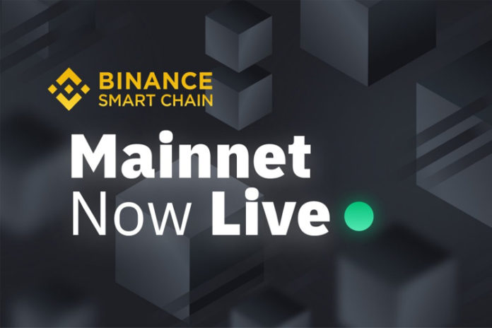 Binance Smart Chain ra mắt Mainnet